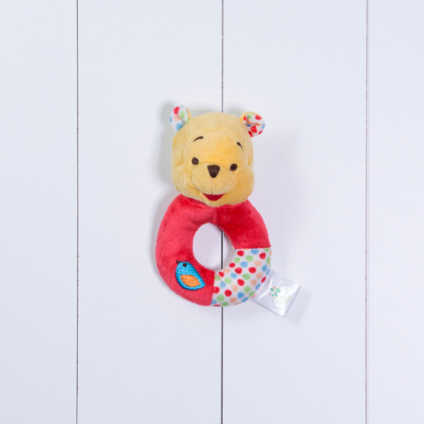 Chocalho Pooh Disney personalizado menino menina bebe comprar