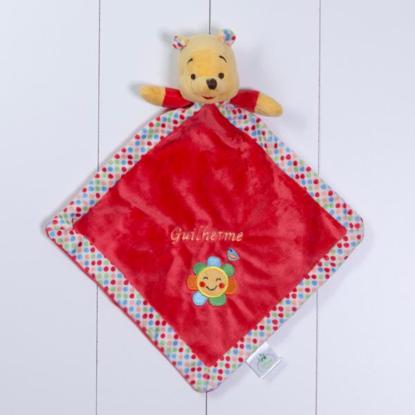 Naninha cheirinho soninho Pooh Disney personalizada menina menino bebe comprar (e)