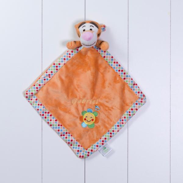 Naninha cheirinho soninho Tigrao Disney personalizada menina menino bebe comprar (e)