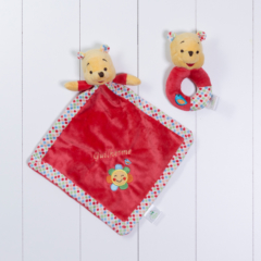 Paninho para bebe recem nascido do ursinho Pooh da Disney