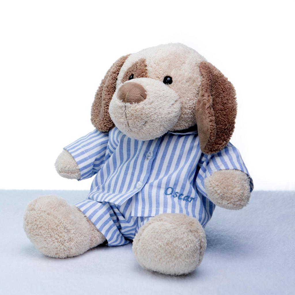 Pelucia cachorro pijama personalizado comprar presente bebe crianca 3 – editada