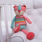 Pelucia gata tricot presente bebe comprar (e)