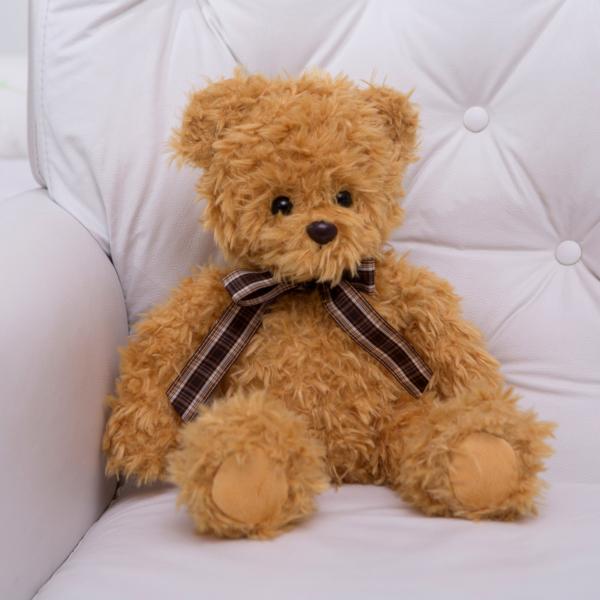 Pelucia urso ingles amarelo presente bebe comprar (e)