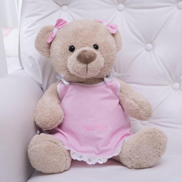 Pelucia urso pijama personalizado comprar presente bebe crianca 2 (e)