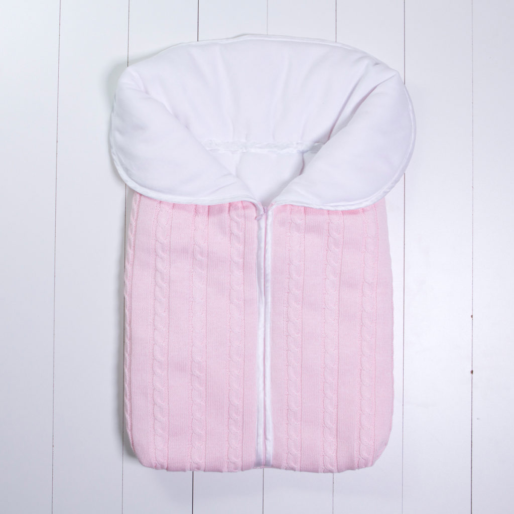 Saco dormir fio bebe personalizado menina rosa comprar (e)