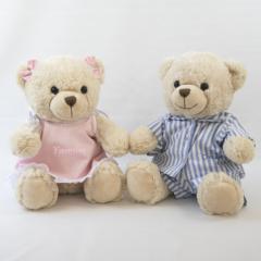 Ursinha de pelucia de camila e ursinho de pelucia de pijama