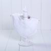 Babador luxo para bebe recem-nascido parte da cesta de presentes maternidade neutra
