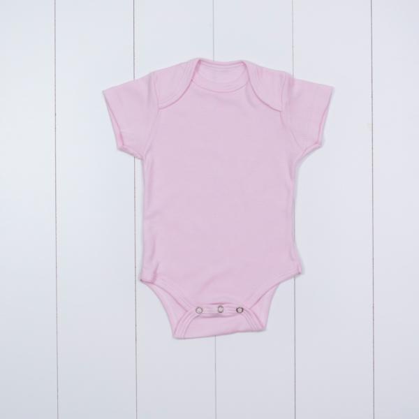 Body bebe menina rosa