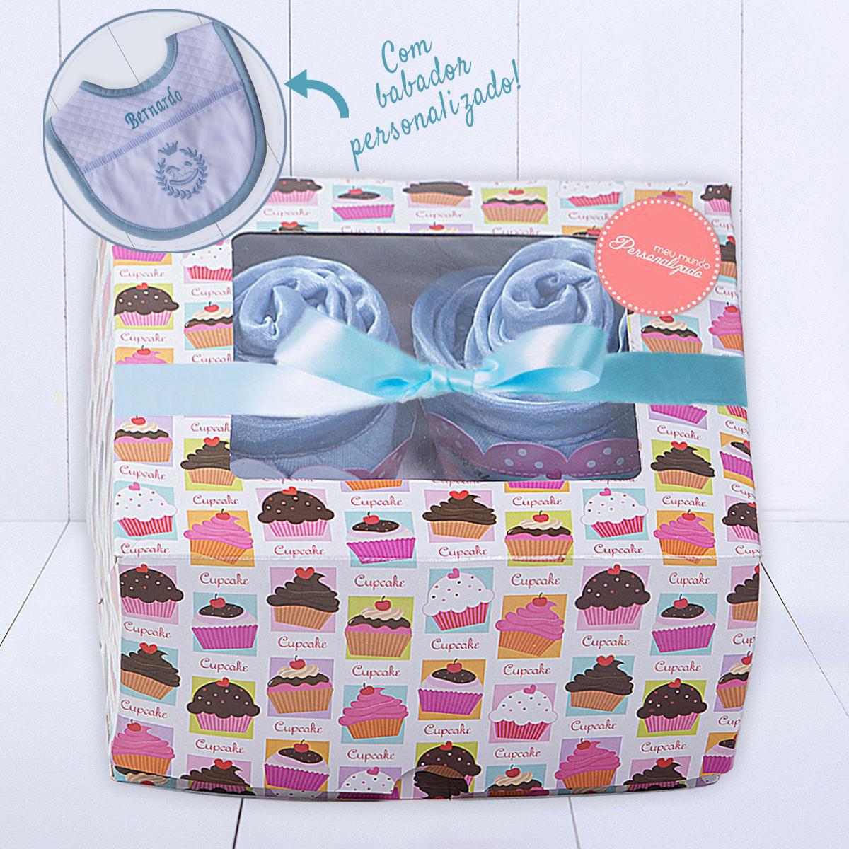 Presente para bebê menino - kit bebê mini enxoval