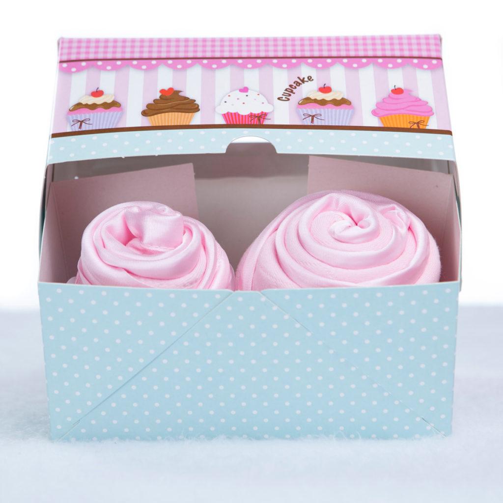 Cupcake babador babeiro paninho boca bebe presente personalizado menina rosa (3)