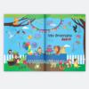 utlimas paginas do livro infantil personalizado e o meu aniversario