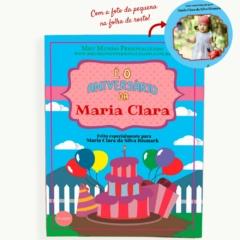 Livro personalizado. Presente para menina de 1 ano