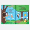Livro e o meu aniversario para meninos. presente para criança de 1 ano