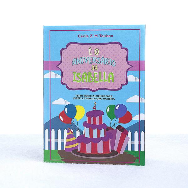 Livro personalizado crianca presente menina capa