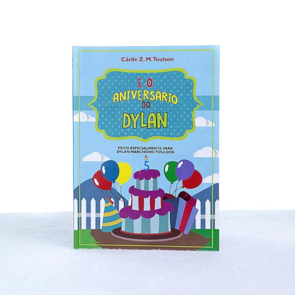 Livro personalizado crianca presente menino capa