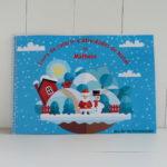 livro personalizado infantil atividades natal