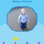 Livro Eu Aprendo a Contar – Meninos – folha de rosto com foto