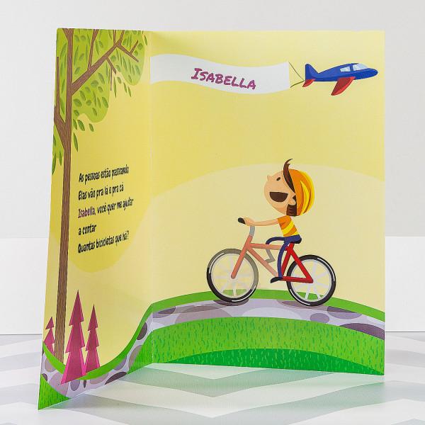 Livro Infantil Personalizados meninas Incentivando leitura