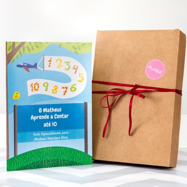Livro personalizados para crianças