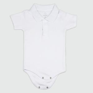 Body gola polo para recem-nascido. Ideia de presete original e barata para cha de bebe ou maternidade