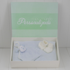 Kit bebê para presentear mamãe e recem-nascido na maternidade ou cha de bebe