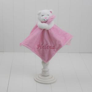 Naninha de ursinho menina rosa