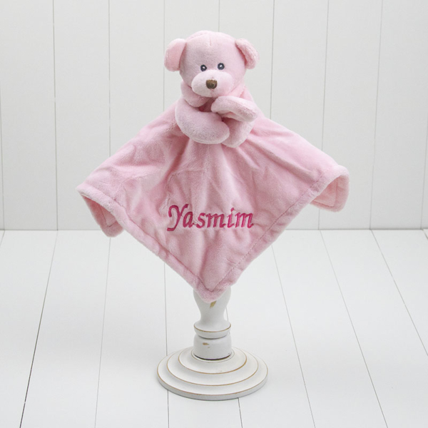Naninha ursinho agarradinho rosa