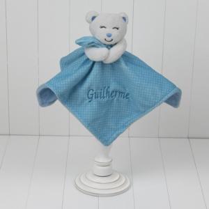 Naninha de ursinho para bebê