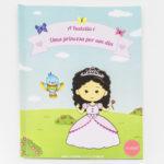 Livro infantil personalizado tema princesas. Presente para criancas