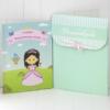 Livro Infantil Personalizado da princesa com Embalagem de presentes