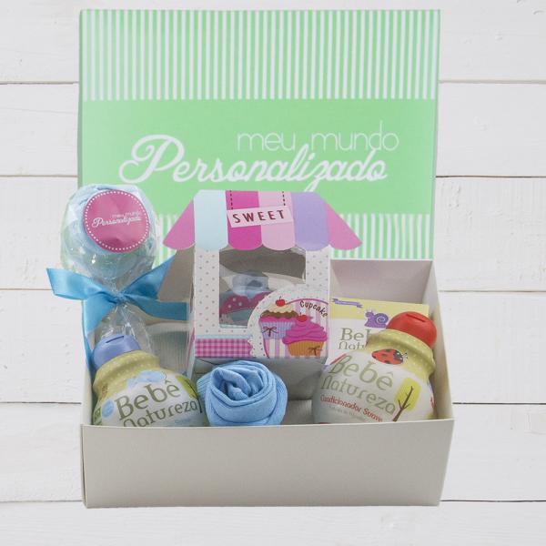 Kit de presente para bebê menino