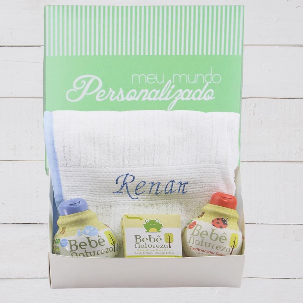 Kit presente para recém nascido banho gostoss para funcionarios e parceiros