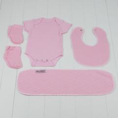 Peças exoval recem-nascidos parte cesta bebe meninas