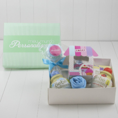 Cesta ou kit para presentear mamaes colegas ou parceiras empresariais gravidas meninos
