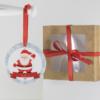 Presente de Natal para bebê recem-nascido, bebe de 6 meses, bebe de 1 ano ou criança. Enfeite personalizado para a arvore de Natal