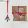 Enfeite personalizado com o nome do bebê para a árvore de Natal