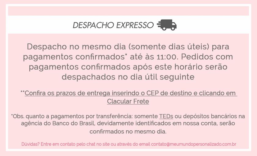 Despacho Extresso - cestas Maternidade
