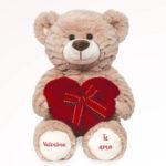 Ursinho de pelucia romantico para dia dos namorados