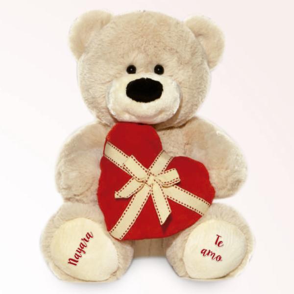Urso Presente Coracao