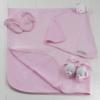 Presente criativo para bebê recém-nascido feminino