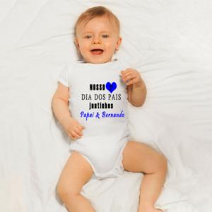 Body de bebe personalizado para o papai de primeira viagem