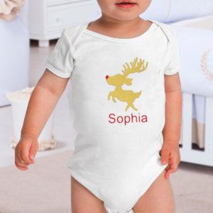 body personalizado natal rena