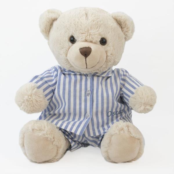 Ursinho de Pelucia de Pijama Oscar – fundo bem clarinho (nao totalmente branco)