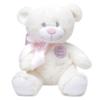 Urso de pelúcia que compõe kit presente recem-nascido com buque meninas