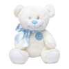 Urso de pelúcia que compõe kit presente recem-nascido com buque meninos