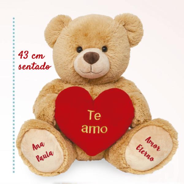 Ursinho Te Amo – Amor eterno e nome da namorada