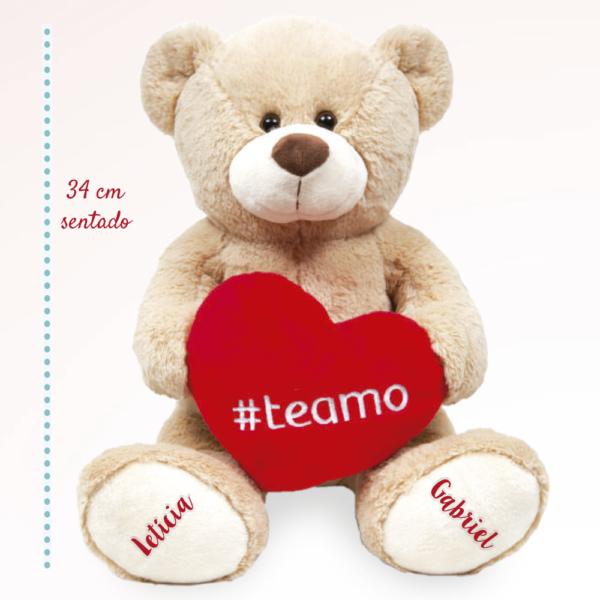 Urso pelucia Hashtag – com medida