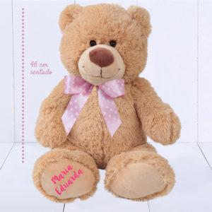 presente para bebê menina de 1 ano - urso grande personalizado