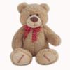 Urso de pelúcia romantico com coração