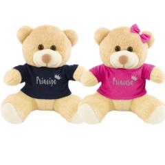 Ursinhos para chá revelação e presente para bebês gêmeos